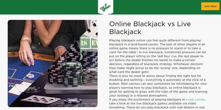 mrgreen_online_blackjack_vs_live_blackjack